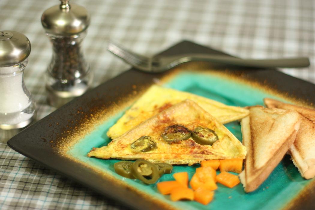 Southwestern Omelet Pockets