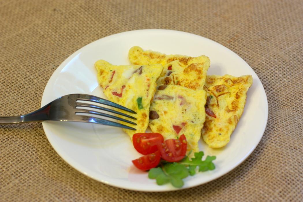 Mediterranean Fluffy Omelet