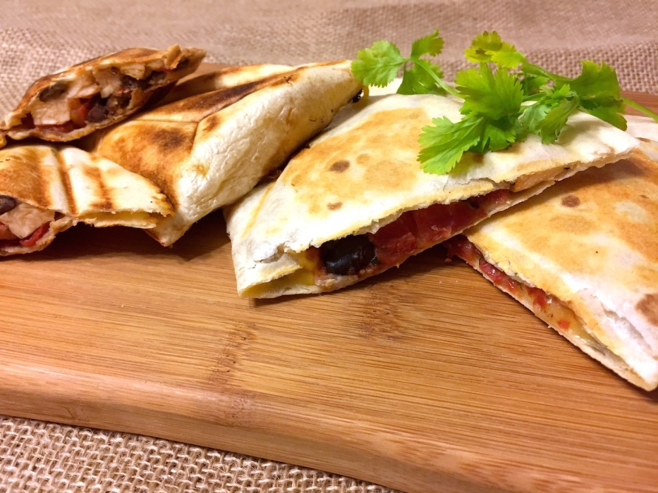 Cilantro Lime Chicken Quesadilla