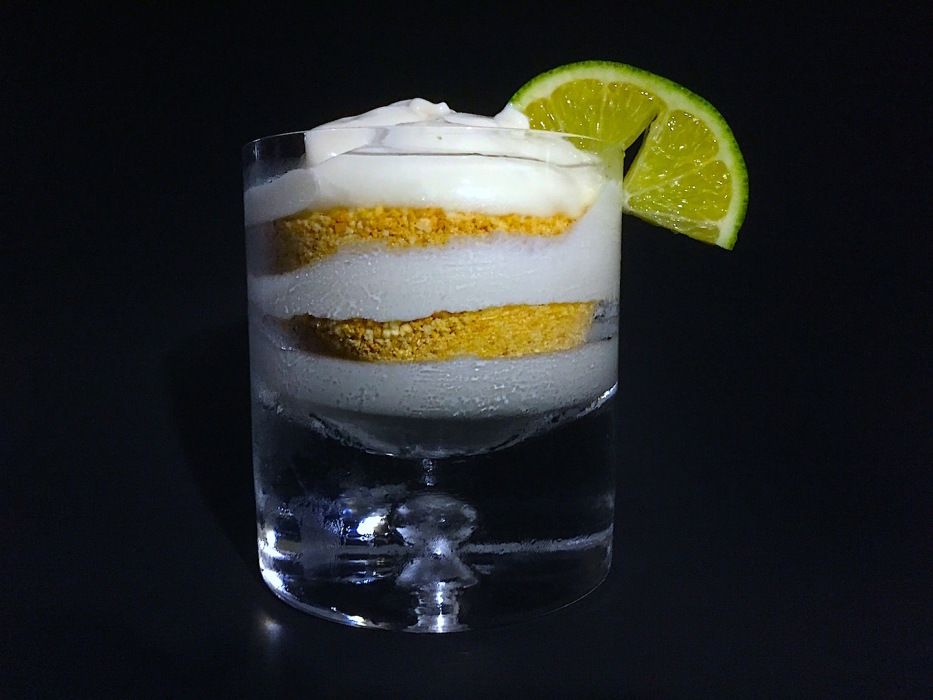 No Bake Key Lime Parfait